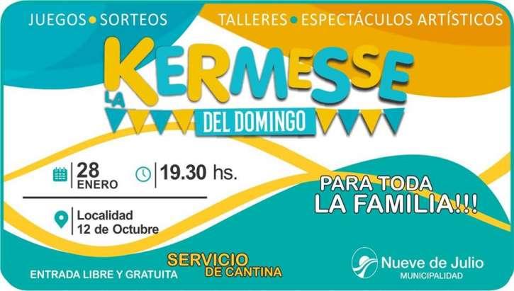 Vuelve La Kermesse Del Domingo Diario Tiempo Digital 9 De Julio