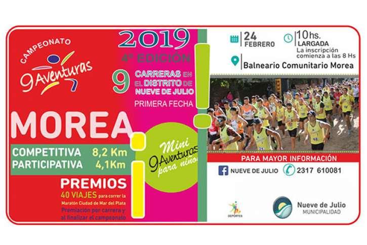 Comienza en Morea la cuarta edición | Diario Tiempo Digital - 9 de Julio